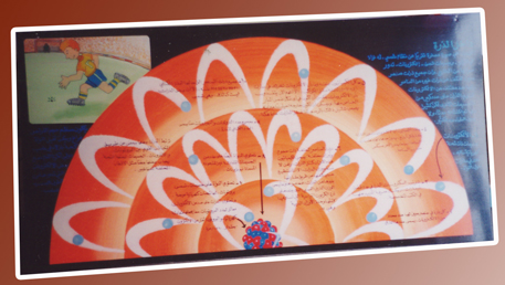 الرسم على ألواح الخشب الابلكاش مدونة الـزاهـر
